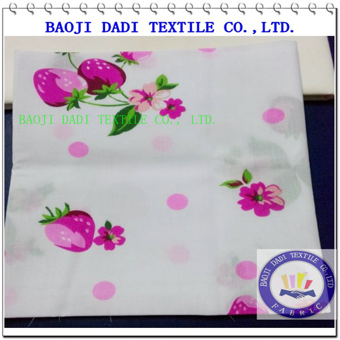 80polyester 20cotton printed
