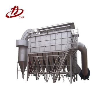 Filtro de bolsa coletor de pó com sistema de jato de pulso em aplicações a carvão
