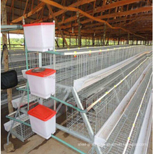 3 LAYER or 4 layer Galvanized chicken cage for Nigeria  Uganda Kenya Arica Market