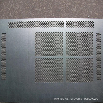 Little Opening Stainless Steel Perforated Metal Sheet