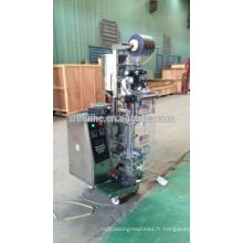 Machine automatique d'emballage au sirop aromatisé aux noisettes