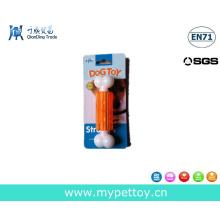 Nueva llegada de nylon perro hueso juguete juguete de mascotas