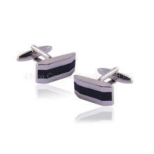 Personalized Silver Wedding Cufflinks for Men