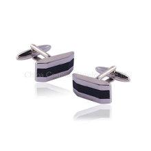 Персонифицированные серебряные запонки для мужчин