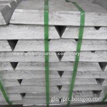 Zinc alloy ingot 99.99%, used in zinc plating