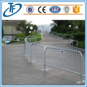 Portable galvanizado aço tráfego barreira de controle de multidão