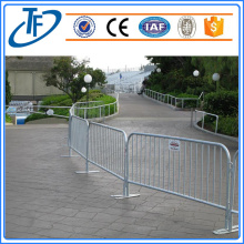 Portable Barrier Steel Traffic Crowd Control Barrier
