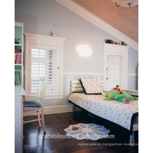 Basswood/Fauxwood window shutters wooden Plantation Shutters from china