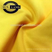Polyester 4-Wege-Stretch-Jersey-Kleidung für Unterhemden und Unterwäsche