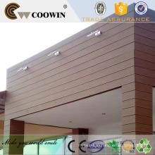 Casa moderna wpc paneles compuestos pared revestimiento
