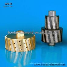 Roues diamantées pour pierre