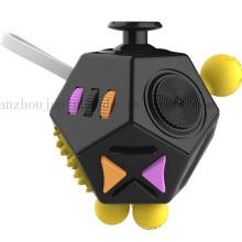 Jouet magique de cube de Fidget de main en plastique de main promotionnelle d'OEM