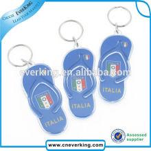 Presonalized Cute Mini Slipper Form Kunststoff Schlüsselbund