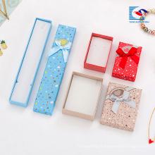 China caixa de presente de jóias de papelão barato decorativo caixas de presente por atacado fornecedor