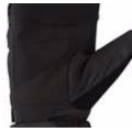 Guantes de invierno Palm Nylon Mesh Warm Glove Unisex