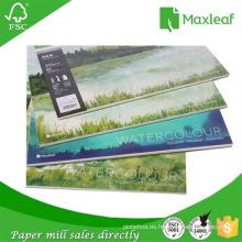 Nueva fuente de almohadilla de dibujo del bosquejo del cuaderno del dibujo a prueba de agua