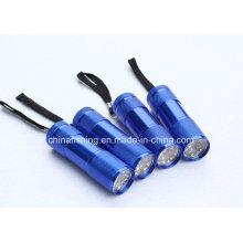 Heiße verkaufende Qualitätsfliegen-Bindung 9LED UV-Taschenlampe