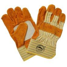 Double Palm Hand Schutzmaßnahmen schneiden resistent Industrial Working Handschuhe