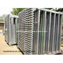 40X80mm Oval Rails Cattle Panel, Panel Ganadero
