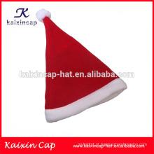 2016 clássico de alta qualidade natal chapéu de papai noel