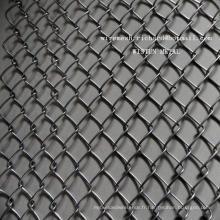 Clôture galvanisée à chaud de maillon de chaîne galvanisée à chaud de maillon de chaîne