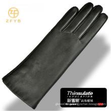 3M thinsulate forrado de cuero guantes de cuero fábrica