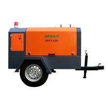 Portable Mobile 100 psi air compressor For Pakistan!