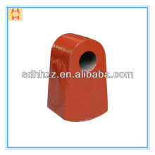High Mn Steel Stone Crusher Beater head