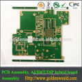 Shenzhen PCB Assembly Manufacturer with Small BGA in Red Solder Mask Board for EMS Service pcb assembly for mouse