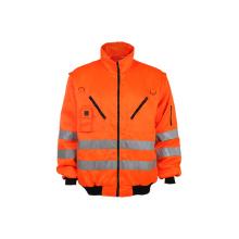 Custotm Reflektierende Arbeits-Sicherheits-Jacke