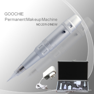 Goochie Cosmetic Tattoo Permanent Makeup Machine for Eyebrow / Lip (ZX-2011)
