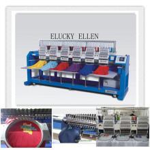ELUCKY Brand New Máquina de bordar multifunções de 6 cabeças EG1506CH
