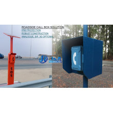 Highway Emergency Telephone, Roadside VoIP Phone, Motorway Wireless Phone