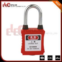 Elecpopular China Factory Small 38MM Shackle Colorido cadeado de segurança à prova de poeira barato