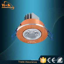 Алюминиевая потолочная Лампа 1*1Вт стремно Белый светодиодный Потолочный светильник
