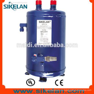 Toda venta intercambiador de calor de líquido receptor y acumulador de líquido