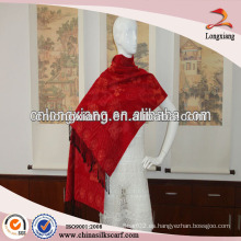 Flora Jacquard Nuevo Diseño Lady Silk Kashmir Shawl