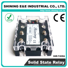 SSR-T40DA 40A DC To AC CE Approved 3 Three Solid State Relay Module
