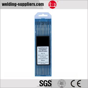 WL 10 - schwarze Elektrodenspitze Lanthan-Schweißen-Elektrode
