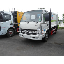 KAMA 6 cubic yards capacity compressed garbage trucks