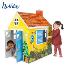 Nueva sala de juegos plegable corrugado excelente para niños
