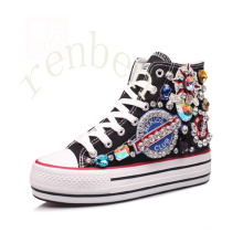 New Hot Sale Femmes Chaussures Chaussures Toile