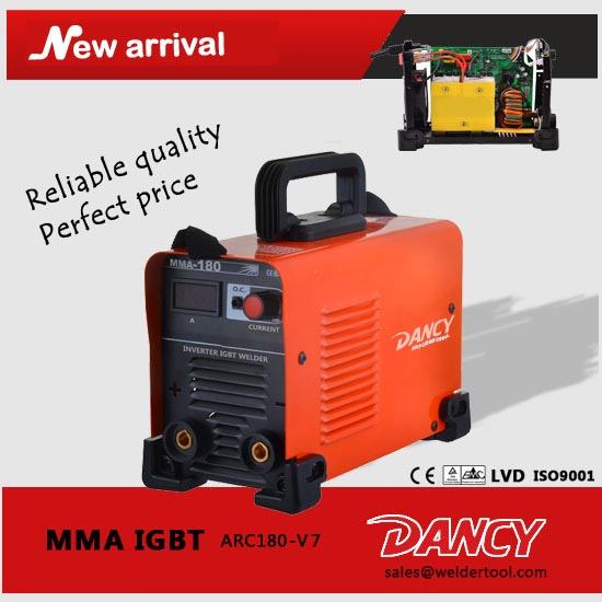 MMA180 igbt inverter welding machine