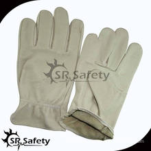 SRSAFETY fashion pig grain lady leather driving glove
