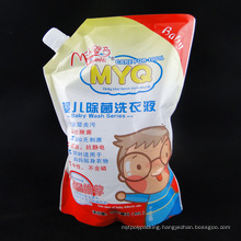 Non-Leakage PET/ PA/ PE Stand up Spout Bag for Detergent/ Detergent Bag (MS-SB011)
