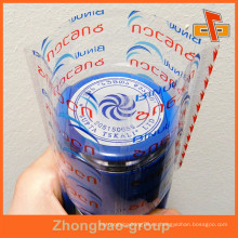 Envoltura de encogimiento industrial Etiquetas de plástico de botella de PET de gran retracción
