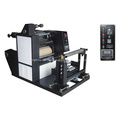 ZX-650 High-speed Roller Laminating Machine   Product Features ZX-650 roll without glue film laminating machine is composed of t