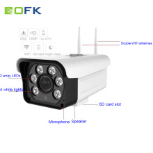Colorful night vision ! 4 white light CCTV Outdoor waterproof IP camera motion sensor PIR camera for home security