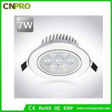 Хорошая цена Алюминиевый светодиодный светильник 7W