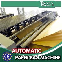 Bolso de papel de la industria hace la maquinaria con control auto